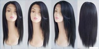 FREE SHIPPING Synthetic lace front wig 18 INCH #1B