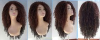 Hot curly Synthetic lace front wig 22 INCH COLOR T30/1B