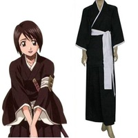 Bleach 5th Division Lieutenant Hinamori Momo Cosplay Costume,Free Shipping