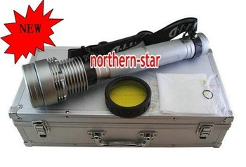 Hot!!!Super bright 50W/38W High power flashlight xenon searchlight /50w hid flashlight