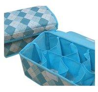 HOT SALE storage bags cases stool underwear storage box Organizer Holder Box Closet BRA storage box with cover 8 lattices