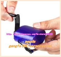 Free ShippingUSB Cell Phone Emergency Charger Hand Power Dynamo Hand Crank