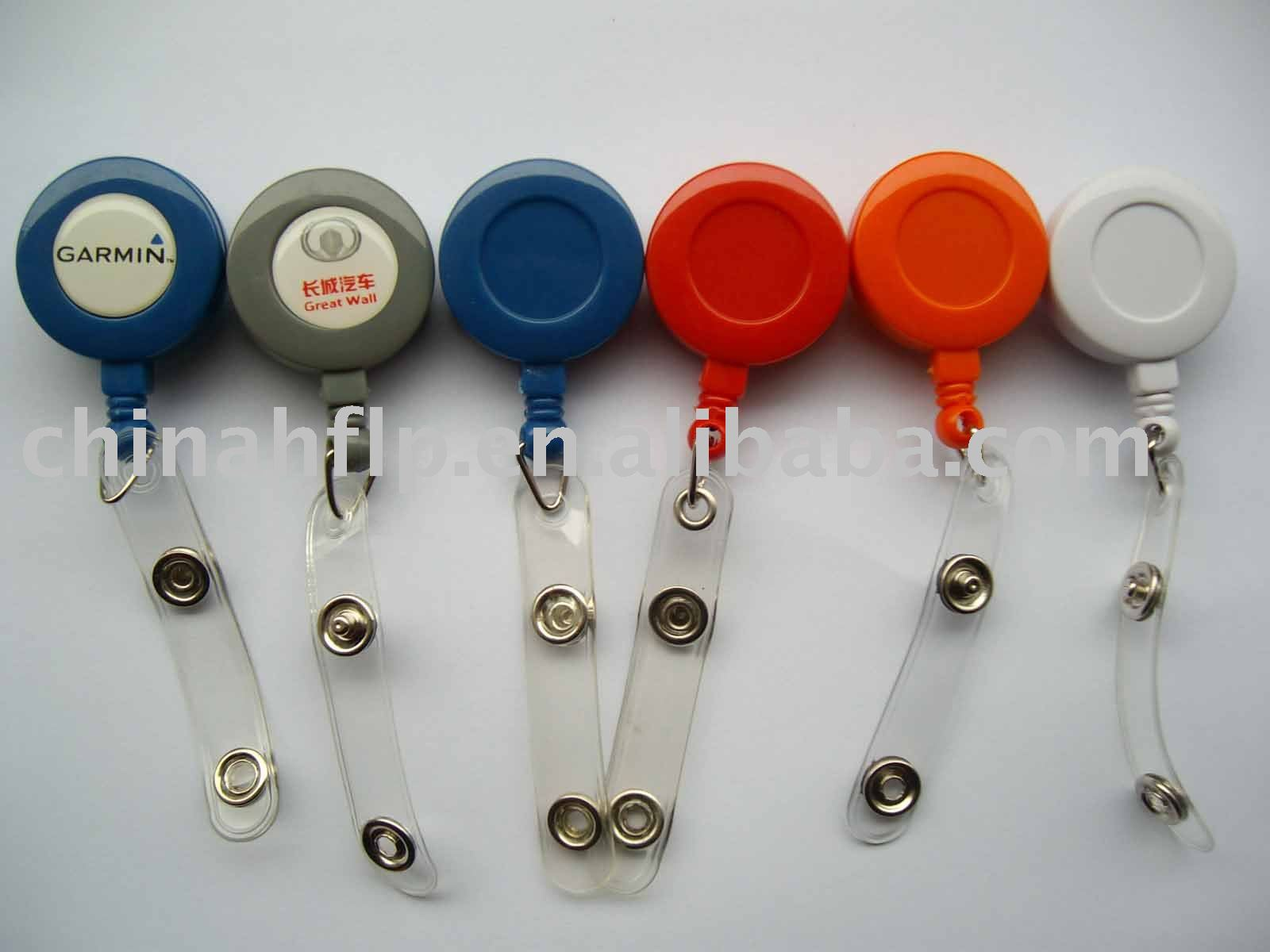 deffrent colors standard size yoyo badge holder use for carton fair or worker badge holder(China (Mainland))