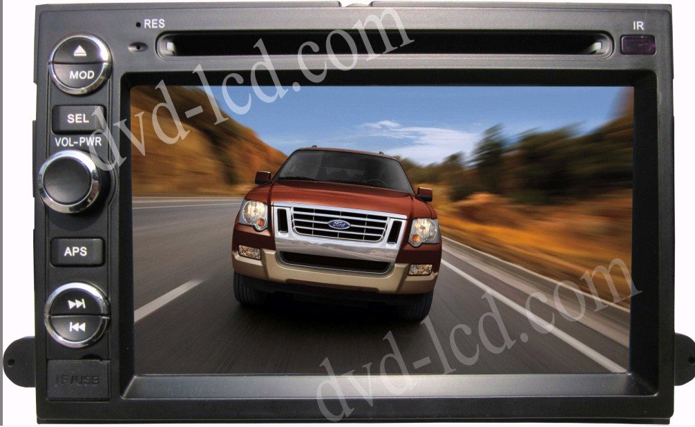 For Ford Expedition Explorer Edge Escape car dvd player Radio GPS Bluetooth IPod HD LCD(China (Mainland))