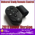 2013 New Version Auto Car Steering Wheel Study Remote Control for DVD GPS DC TV MP3 Player(China (Mainland))
