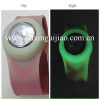 Silicone Slap  glow-watch