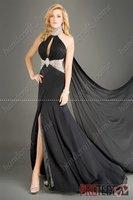 Free Shipping  Beach Chiffon Wedding Bridal Prom Evening Dress*Custom