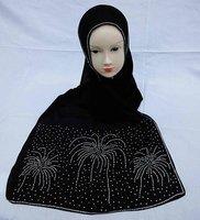 32414   shawls with diamond scarves evening shawls black muslim women wear chothing new design hijabs islmic shawls scarf