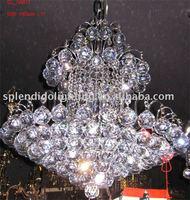 "Free Shipping 100% Guanrantee 22"" Elegant Best K9 Crystal Lamp (Gold,Chrome frame, clear crystal,Dinning,living room,corridor)"