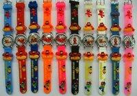 50pcs/pack Sesame Street Cartoon Children Watch Toy Gift  free shipping