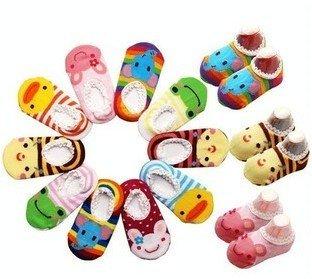 100 pairs/lot Hot sale Fashion Toddler Unisex Antislip Lace Baby Socks(China (Mainland))