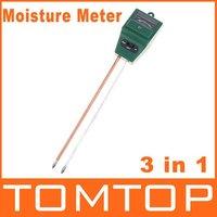 метр гидропонных влаги/свет/ph тестер почвы 3-в-1, dropshipping
