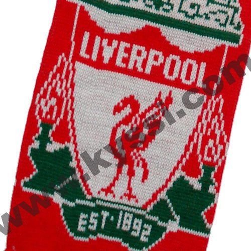 Liverpool Knitting Patterns : Liverpool soccer scarf online shopping-the world largest liverpool soccer sca...