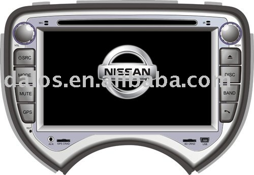 Professional manufacturer for special car DVD player GPS for Nissan March(China (Mainland))