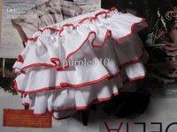 Bloomers Pants white New fashion Brand Japan Baby pants Ruffle
