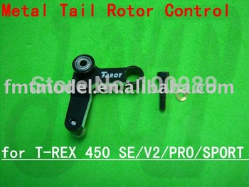 F00626   HS1295 Metal Tail Rotor Control Arm Set for  T-rex TREX 450 SE V2 PRO SPORT S XL GF+ Free shipping