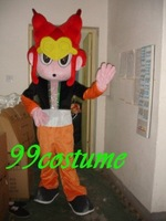 Free Shipping Adult Size Clown Man Cosplay Mascot Costume Cosplay Christmas Hallowmas Party Dress