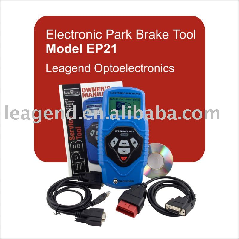 EPB tool Electronic parking brake service tool EP21(blue, English)(China (Mainland))