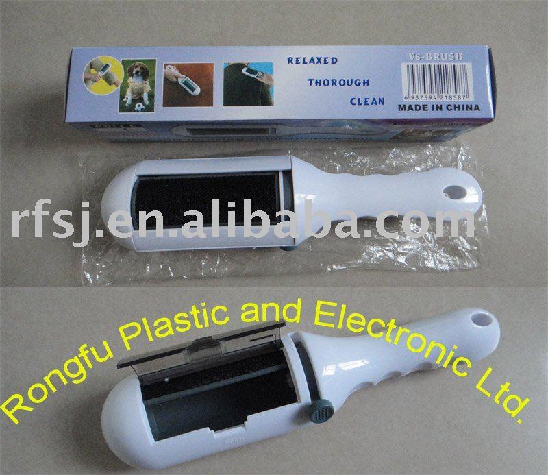 Lint Dust Pet Hair Clothes Furniture Remover Brush, Dust Remover, Lint Remover,Cloth Brush, Lint Roller Brush(Hong Kong)