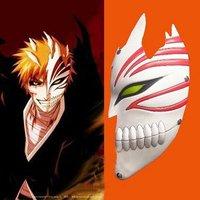 Bleach cosplay Kurosaki Ichigo bankai Half Hollow Mask (white) - Freeshipping