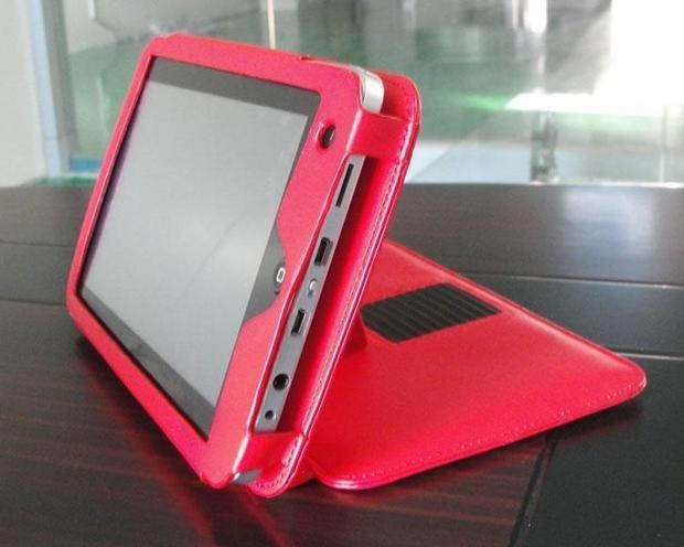 7 polegada caso laptop de couro para o Google Android Irobot MID grátis frete 5 cores para escolher(China (Mainland))