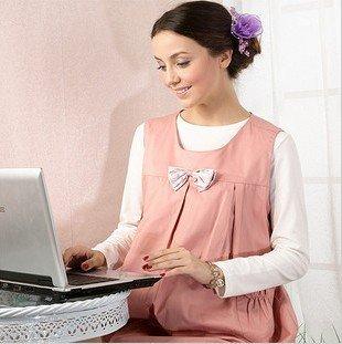 Kang Nuolai new spring radiation maternity dress 100% silver fiber clothing vest sweater vest aprons S42026