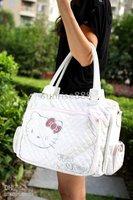 Free shipping Hello Kitty White Shopping Shoulder Bag Handbag Party A5012