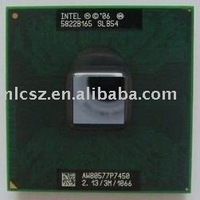 Wholesale and retail Intel Core 2 Duo Mobile P7450 SLB54  laptop cpu