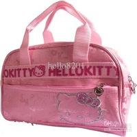 princess style 6piece/lot ! Sanrio hello kitty mini soft Cortex tote bag,Pink