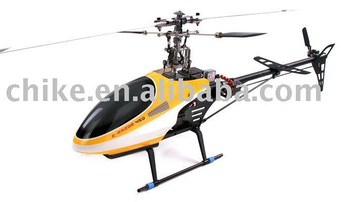 E-RAZOR 450 pro 3D Helicopter, 6CH RC Heli RTF(China (Mainland))