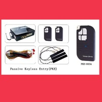 Eastern Promotion (Shipping Free)PKE Passive Keyless Entry Car Aalarm+window closer +Engine push start button
