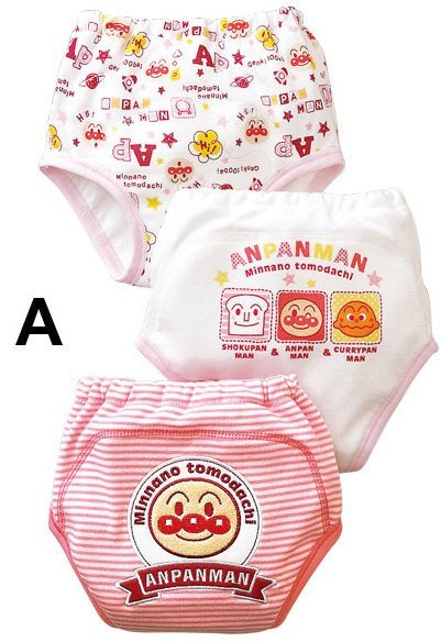 Wholesale Anpanman three-tier learning trousers Training Pants Learning pants TY-X001 A(China (Mainland))