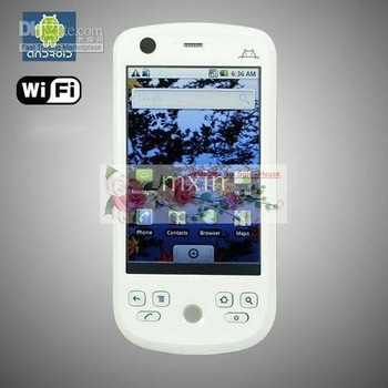NEW H6 Android 2.2 OS Mobile Phone H6 Suppot Android Market Camera WIFI FM white/black