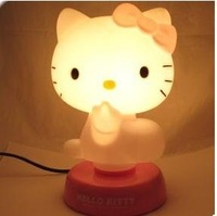 Cheap New LED Hello Kitty Night Sleeping Desk Light Lamp wholesale