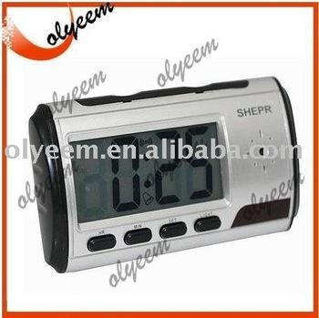 free shipping clock dvr camera DVR-OL29 640X480@30FPS; JPEG 1600X1200,portable mini dvr