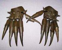 Rare OLD Statue of copper glove Raddoppiamento 100% free shipping