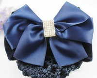 24 pcs /lot  high quality  worker bowknot barrette/nurse clip/hairnet headwear