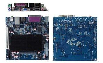 OO Ahome ITX BW52X61E Intel Atom D525 1.8G dual core,DDR3,6COM,,Mini ITX Computer Motherboard,POS,thin clients,itx case