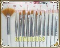 FREE SHIPPING 12x Designer Pen Nail Art Brush Painting Dotting Tool K347