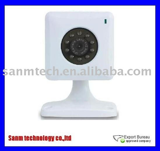 Wholesale and retail Wireless network camera CCTV security camera CMOS IP camera with MJPEG Compression format system(Hong Kong)