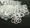 FREE SHIPPING 500 Silver Plated Open Jump Rings Jewelry Making Findings 7x1mm