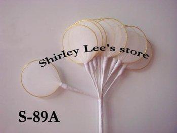 Wholesale --120 bunches=1440 leaves  Jordan Almond Holder, Rachetti nets , wedding favor+Free Shipping