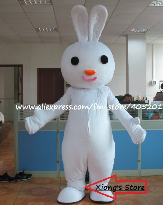 white bunny mascot costumes poly foam helmet(China (Mainland))