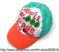 Children's Caps & Hats Childrens Caps Hats Dual Cap Cotton Baby Hats Apple hat