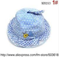 Children's Caps & Hats Childrens Caps Hats Dual Cap Cotton Baby Hats 1-3 years Bee Hat