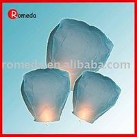 Free shipping/100%fire-retardant  paper flying lanterns,On sale