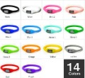 14colors Fashion Wrist sport Watch\1ATM waterproof anion silicone watch \Wrist watch wholesale