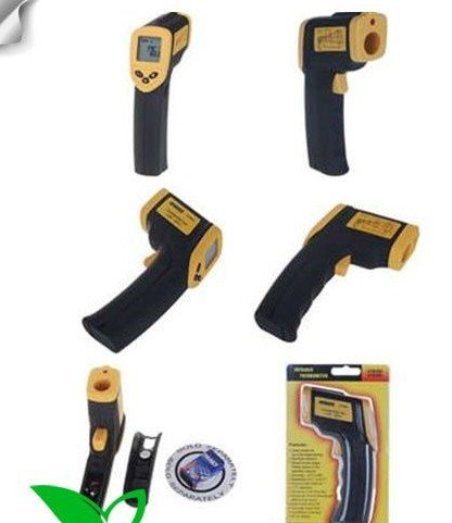 free shipping brand new Non Contact Digital Infrared Thermometer with Laser Sight 2pcs(China (Mainland))
