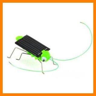 Free shipping 10 pcs/lot Mini Solar Powered Cricket toy(China (Mainland))