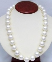 "genuine south sea golden pearl necklace       AKOYA AAAA+   11-12MM GOLDEN PEARL NECKLACE 18"" 14KT GOLD"